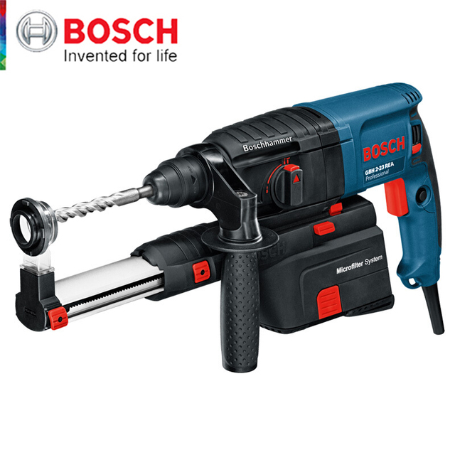 Bosch Electric Hammer Impact Drill With Dust Collector Hammer Drill Machine Electric Breaker Jack Hammer 2 Functions Power Tool 1