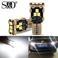 Bombillas LED Canbus T15 W16W para coche, luces de marcha atrás blancas 920 912, 12V, lámpara para BMW Mercedes Benz W203 W211 W204, 2 uds.