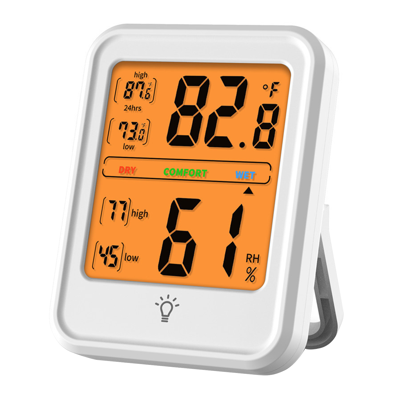 Higrômetro digital termômetro interior medidor de temperatura