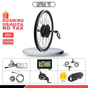 цена на eBIKE Conversion Kit 48V 500W Rear Rotate Wheel Brushless Motor Electric Bicycle  Conversion Kit16-28 inch 700C  With Display