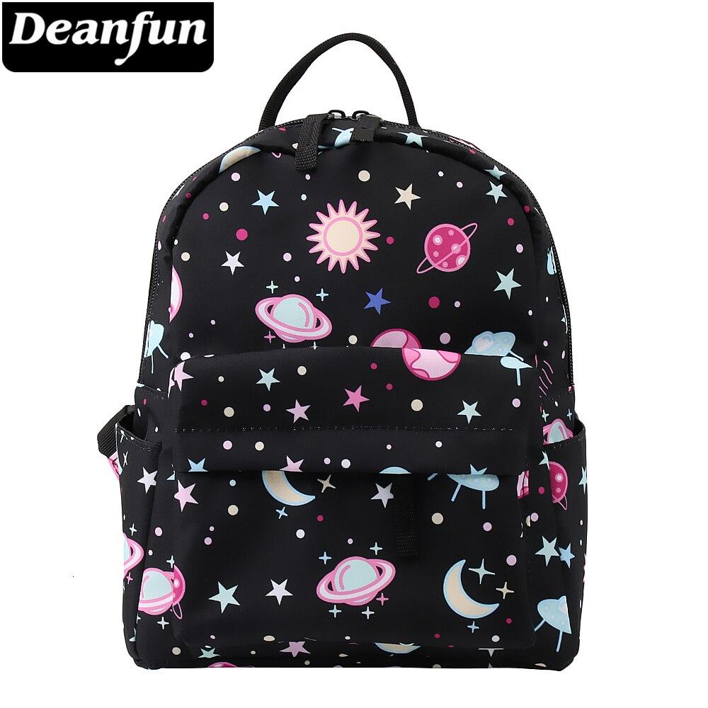 Deanfun Galaxy Backpack Women 3D Printing Shoulder Bag Cute Travel Backpack For Teenage Girls Mini Backpack For Women DMNSB-2