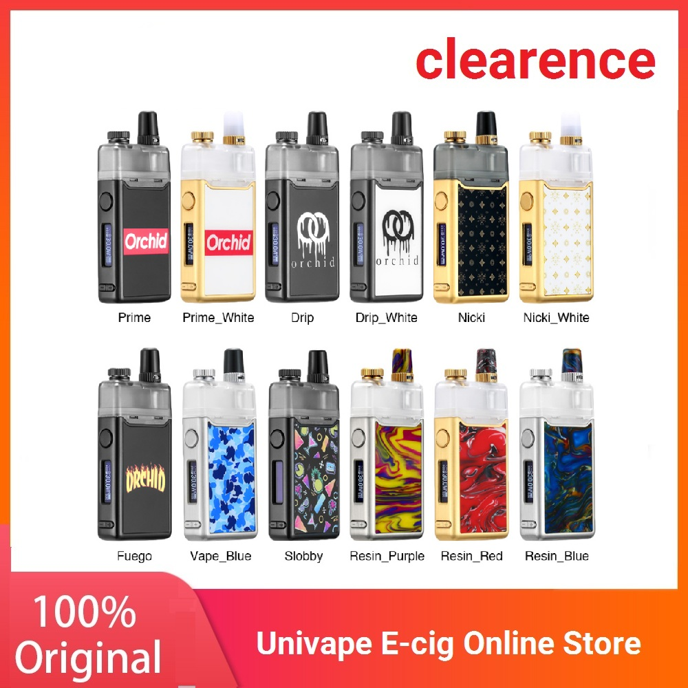 New Heavengifts Orchid IQS Pod Kit With 950mAh Built-in Battery & 3ml Orchid IQS Pod For MTL & DL Vaping E-cig VS Frenzy Kit