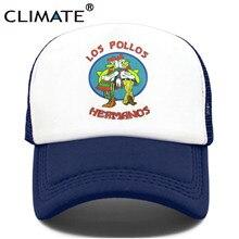 CLIMATE-Gorra de LOS POLLOS Hermanos, gorro de camionero, de malla, fresco, para verano