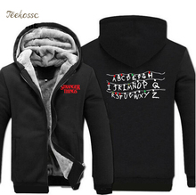 2018 Hot Sale Winter Sweatshirt Jacket Hoodies Mens TV Show Men Zip Up Hooded Male Coat Clothes Streetwear Hoodie Sweatshirt 5XL все цены