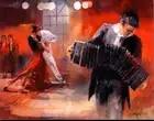Ручная роспись характер Масляные картины сексуальная девушка стены искусства танцующая пара голландский живописец - 1