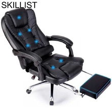 Bilgisayar Sandalyesi Gamer Sedie Sandalyeler Fotel Biurowy Fauteuil Leather Poltrona Silla Gaming Cadeira Massage Office Chair
