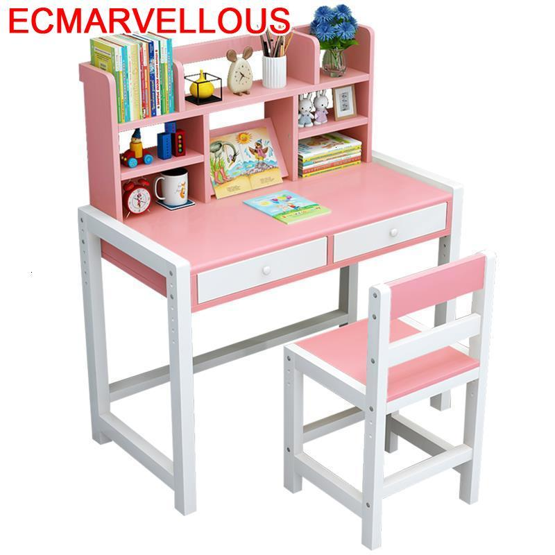 Dzieci Mesa Y Silla Infantil Pour Child Scrivania Bambini And Chair Toddler Adjustable Kinder For Bureau Enfant Kids Study Table