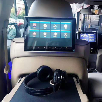 11.8 Inch Android 8.1 Car Headrest Monitor 1920*1080 4K 1080P Video Player Touch Screen WIFI/Bluetooth/USB/SD/Mirroring/Miracast