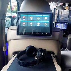 Новинка 2020, Android 8,1, монитор на подголовник с 8-ядерным процессором, 2 Гб ОЗУ + 16 Гб ПЗУ, 11,8 дюймовый экран, развлекательная система на заднем сид...