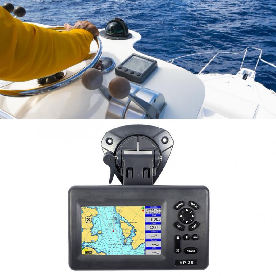 5 дюймовый цветной ЖК GPS IPX5 Водонепроницаемый морской плоттер спутниковый