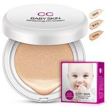 Baby Skin Whitening CC Cream Concealer Moisturizing Air Cushion Nude Makeup Isolation Hydrating BB Cream Beauty Cream недорого