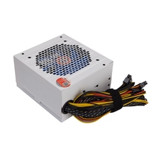 TAISU PC ordinateur alimentation ordinateur de bureau PC alimentation 8 broches ventilateurs ATX 12V/ SATA