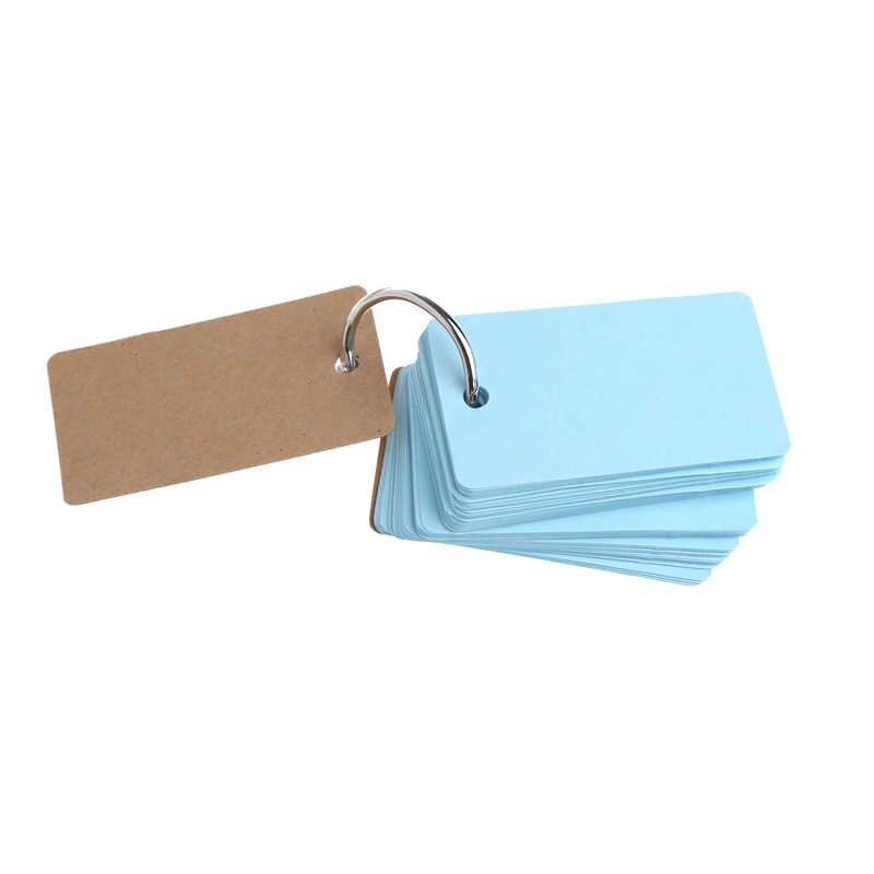 230 גיליונות Creative צבעים בוהקים אבזם קלסר הערות נייד פלאש כרטיסי תזכיר רפידות חמוד מכתבים DIY ריק כרטיס-מחשב חבר