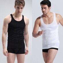 Underwear Corset-Shape Slimming Shirt Vest Body Men's Belly Fatty Tummy