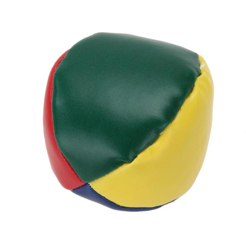 Горячая мяч для жонглирования Классический Нежный мультфильм улыбка лицо жонглирование мяч из искусственной кожи Bean Bag дети интерактивные игры игрушки