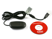 Gaming Receiver For XBOX360 Wireless Controller Receiver Game USB Receiver PC Adapter Gamepad Adapter Support Windows