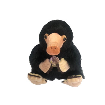 Fantastic Beasts and Where to Find Them Niffler Plush Toy Fluffy Black Duckbills Cute Soft Stuffed Animals 8'' 20 cm Kids Gift fantastic beasts and where to find them macusa