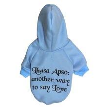 Синий французский бульдог одежда для маленьких собак зимнее