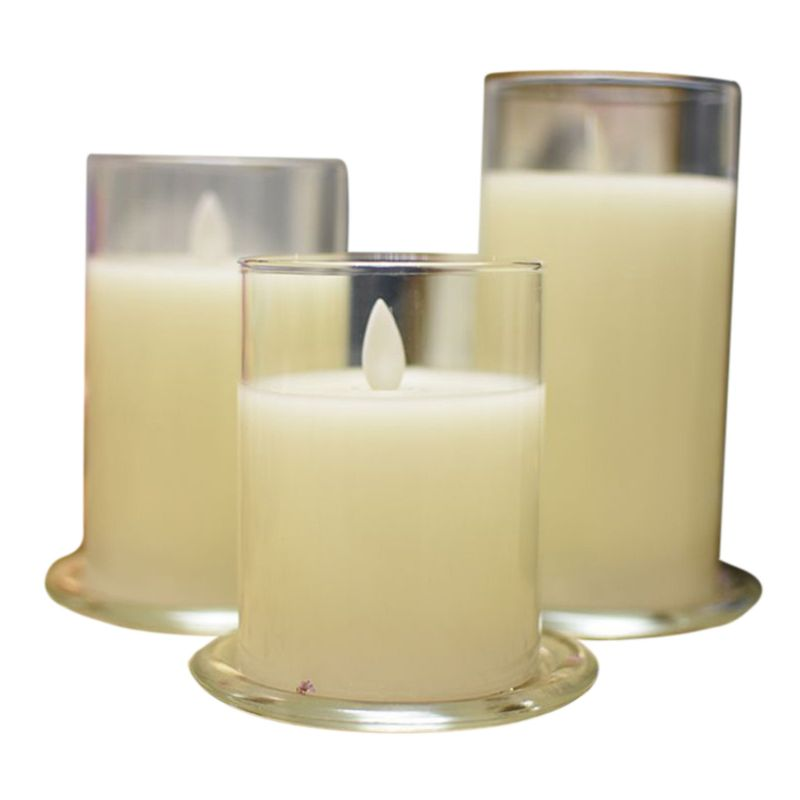 Tea Lights Flameless Votive Candle With Timer Tea Light LED Candles Tealights NEW