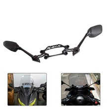 Mirrors XMAX Motorcycle-Modified-Cnc Yamaha Bracket Aluminum for X-Max-250/300 Front-Stand-Holder