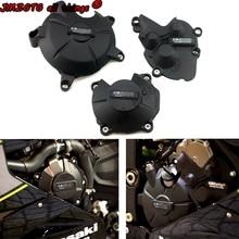 Funda protectora para motor de motocicleta KAWASAKI, cubierta protectora para motor de motocicleta KAWASAKI ZX6R 2007 08 09 10 12 13 14 15 16 18 19 2020