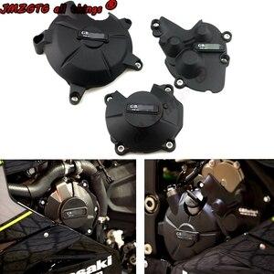 Image 1 - Funda protectora para motor de motocicleta KAWASAKI, cubierta protectora para motor de motocicleta KAWASAKI ZX6R 2007 08 09 10 12 13 14 15 16 18 19 2020
