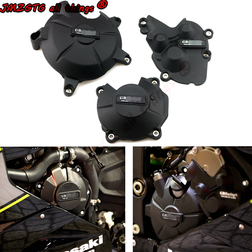 Motorcycles Engine Cover Protection Case For Case GB Racing For KAWASAKI ZX6R 2009 10 12 13 14 15 16 18 19 2020