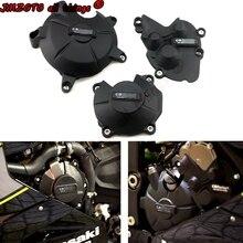 オートバイエンジンカバー保護ケースケースギガバイトkawasaki用ZX6R 2007 08 09 10 12 13 14 15 16 18 19 2020