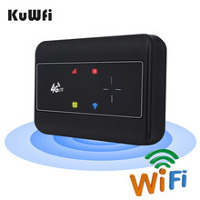 KuWFI Portable 4G Modem Router 3G/4G Wifi SIM Router Modem Pocket Wi-fi Mobile Hotspot Car Wi-fi Router With Sim Card Slot