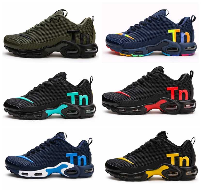 Nieuwste Mens Air Kwik Tn Loopschoenen Fashion Rainbow Colorfull Designer Sneakers Chaussures Hombre Tn Man Max Sport Trainers