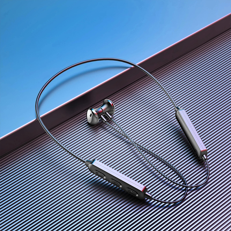Беспроводной Bluetooth 5,0 спортивные наушники с шейным стерео гарнитура Хэндс фри, мобильный телефон наушники магнитные наушники для Xiaomi 6