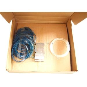 Image 3 - Envío gratis 10 unids/lote Alta Calidad 1x8 bulbo/foco divisor de PLC de fibra óptica