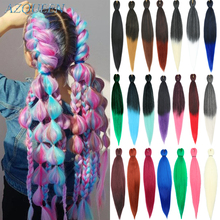 Braid Hair Crochet Braiding-Extension Synthetic Ombre 22inch EZ 100g AZQUEEN for Women