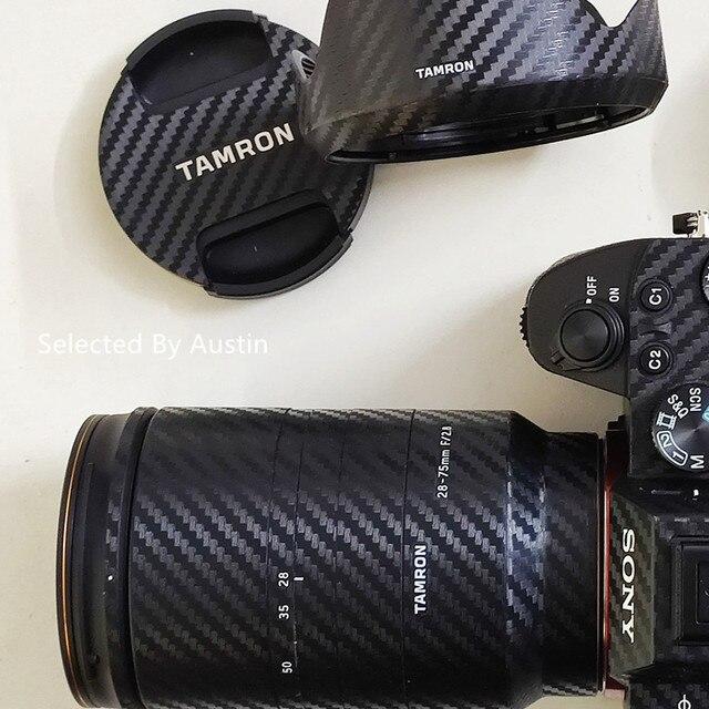 Защитная пленка для объектива TAMRON 28 75 2,8G, покрытие с защитой от царапин