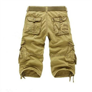 Image 5 - 8 Colors Plus Size 29 42 New Brand Summer Camouflage Loose Cargo Shorts Men Camo Summer Short Pants Homme Cargo Shorts NO BELT
