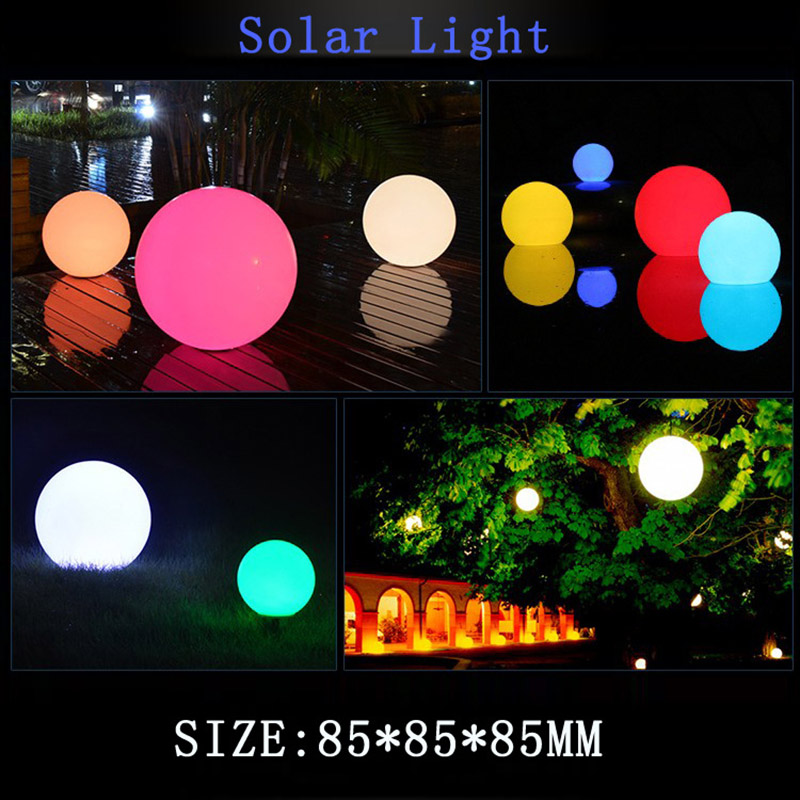 Hot LED Remote Controlled RGB Submersible Light Battery Operated Underwater Night Lamp Outdoor Ball Garden Party Decoration LG66
