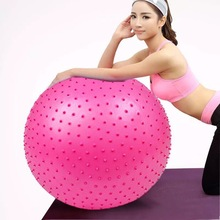 Barbed-Massage-Ball Gym-Ball Fitness Balance Pilates 65cm Exercise Workout Birthing Sports