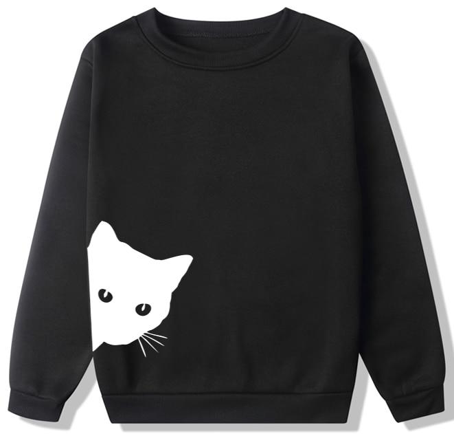 COGOXO NEW Men Clothing Sweatshirt Girl Hoodie Tee Womens Pullover Plaid Tops Autumn Sweatshirts Round Neck Large Hoodies Mm1