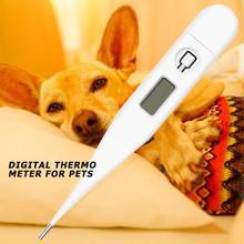 Pet цифровой термометр для полости рта подмышки анус кошка собака измеритель температуры индикатор температуры товары для домашних животных
