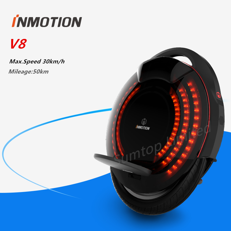 Original Inmotion SCV V8 self balancing scooter build-in handle adjustable single one wheel EUC skateboard hoverboard unicycle