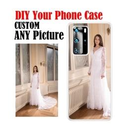 На Алиэкспресс купить чехол для смартфона soft tpu transparent case custom diy photos for huawei p30 p40pro p20lite p10 p smart honor 10 9 8 mate 9 10pro