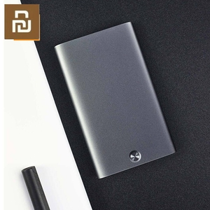 Image 2 - Original Youpin Rice Card Case Men Women Business Metal Wallet Card Holder Aluminum Smart Card Case Can Bank Card