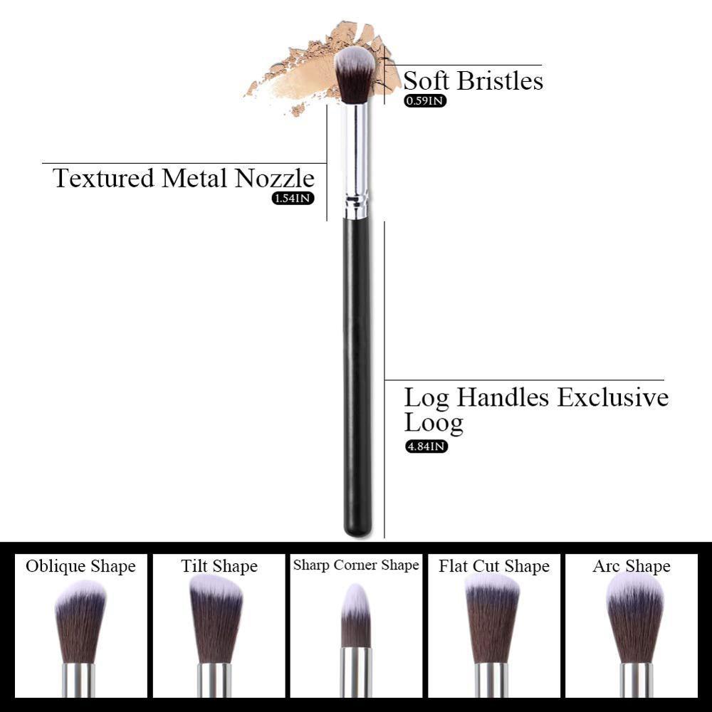 Makeup Brushes tool set 10pcs Professional Powder Foundation Eyeshadow Make Up Brushes Cosmetics Soft Synthetic Hair 5