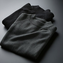 Cashmere Wool Sweater Men Knitwear Brand Clothing 2020 Autumn Winter New Arrival Slim Warm Sweaters O-Neck Pullover Men Top