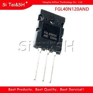 10pcs/lot New FGL40N120AND 40A/1200V 40N120 TO-3PL FGL40N120ANDTU 1200V NPT IGBT