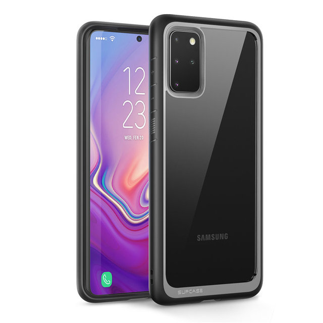For Samsung Galaxy S20 Plus Case / S20 Plus 5G Case (2020) SUPCASE UB Style Premium Hybrid TPU Bumper Protective Clear PC Cover