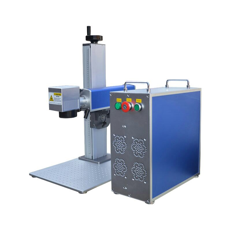 10W 20W 30W 50W Potable Mini Fiber Laser Marking Machine For Mental Engraving
