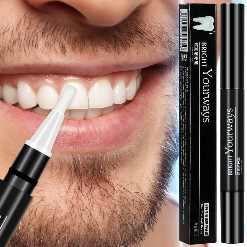 YOURWAYS Teeth Whitening Pen Cleaning Serum Remove Plaque Stains Dental Tools Oral Hygiene Tooth Gel Whitenning Toothpaste