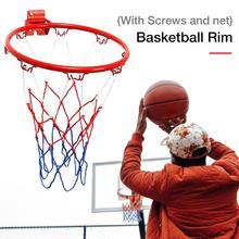 32 см подвесная баскетбольная настенная оправа для гол, спортивная сетка для дома и улицы, баскетбольная настенная подвесная корзина