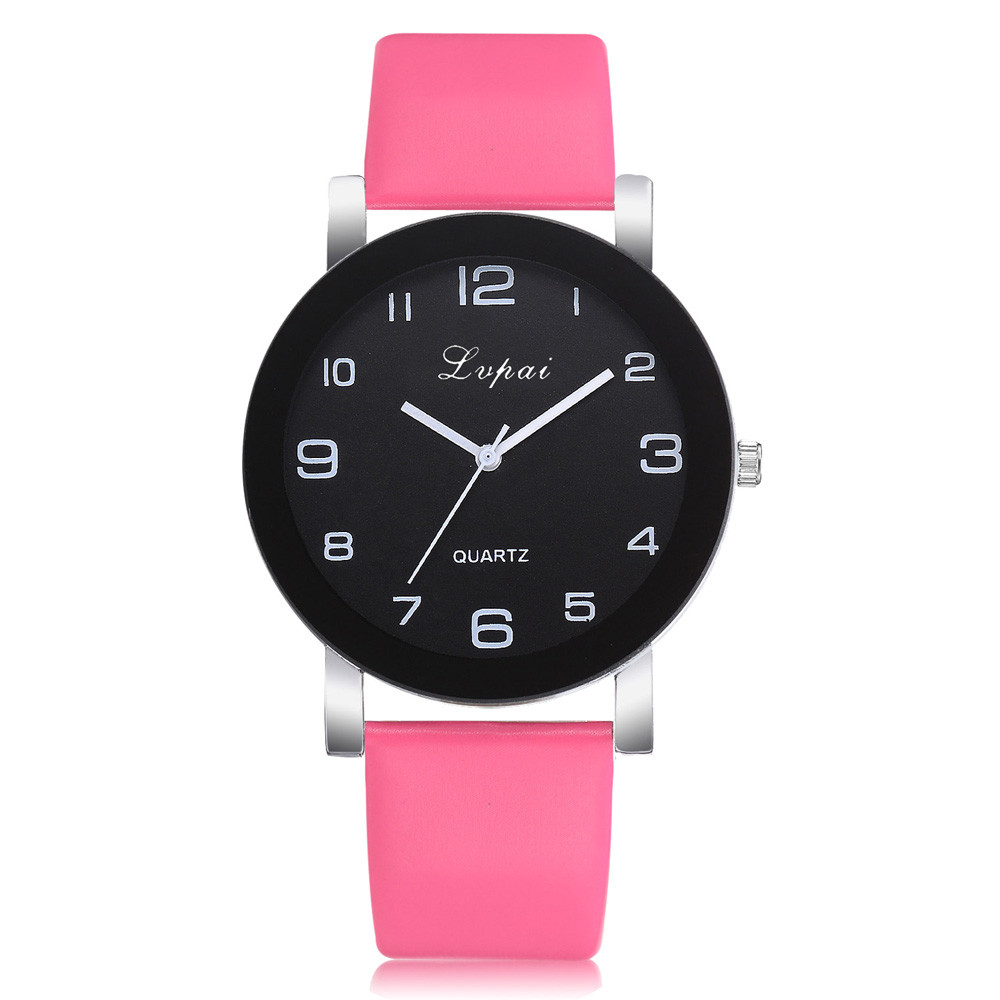 2020 Hot Women's Watch Casual Quartz Leather Band Watches Analog Wrist Watch Valentine Gift Crystal Stainless Steel Dropship